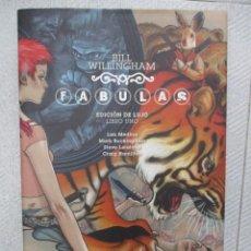 Cómics: FABULAS EDICION DE LUJO LIBRO UNO - BILL WILLINGHAM - VERTIGO - ECC EDICIONES TAPA DURA. Lote 123221459