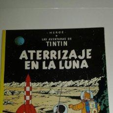 Cómics: COMIC LAS AVENTURAS DE TINTIN ATERRIZAJE EN LA LUNA. HERGE. EDITORIAL JUVENTUD .1987. Lote 123246839