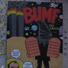 Cómics: BUMF - JOE SACCO - ED RESERVOIR BOOKS. Lote 123307935