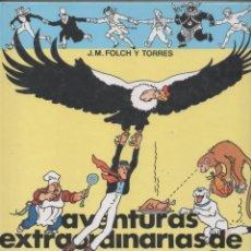 Cómics: AVENTURAS EXTRAODINARIAS DE MASSAGRAN - J.M.FOLCH I TORRES - ILUSTRADO *. Lote 123334967
