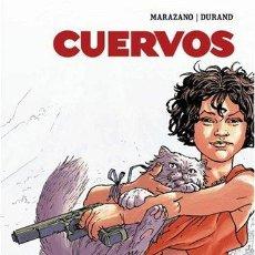 Cómics: CUERVOS DE MARAZANO Y DURAND GLENAT PERFECTO ESTADO INTEGRAL 186 PAG TAPA DURA OBRA COMPLETA. Lote 123352051