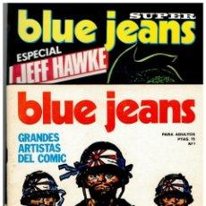 Cómics: BLUE JEANS -COMPLETA 1 AL 28- NUEVA FRONTERA 1977.EXCELENTE.. Lote 147401648