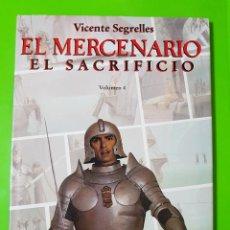 Cómics: EL MERCENARIO TOMOS 4 5 Y 6 DE VICENTE SEGRELLES ÁLBUMES GIGANTES EN TAPAS DURAS. Lote 123556599