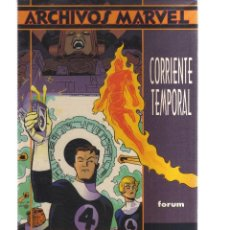 Cómics: ARCHIVOS MARVEL CORRIENTE TEMPORAL. Lote 123651911