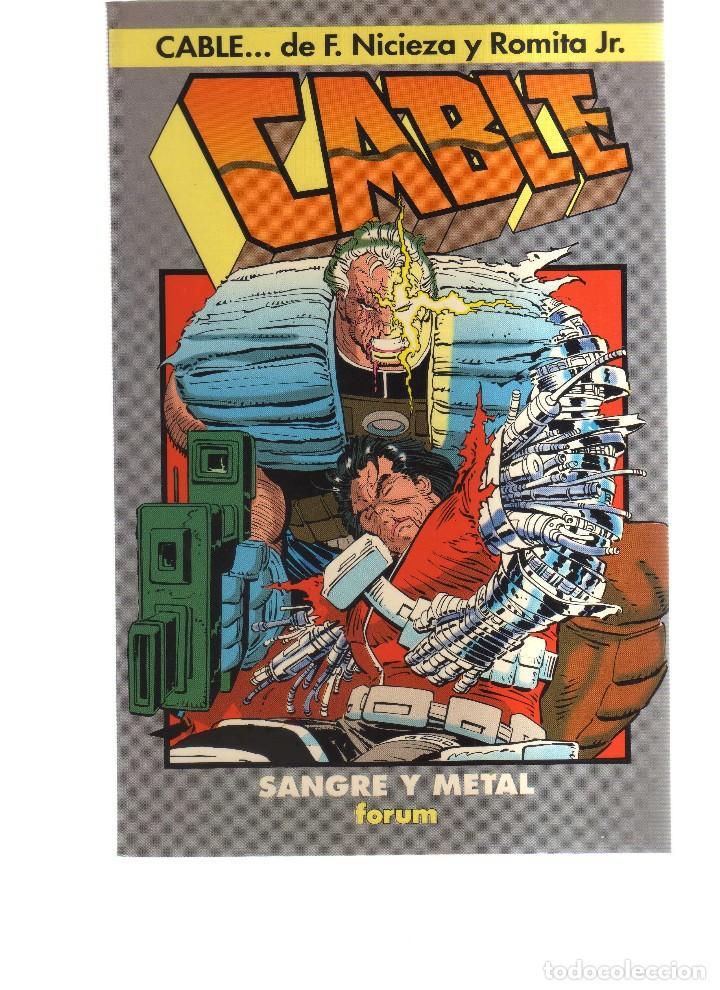 CABLE SANGRE Y METAL (Tebeos y Comics - Comics otras Editoriales Actuales)