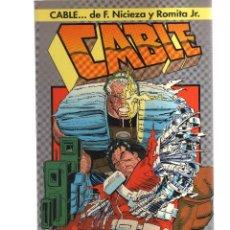 Cómics: CABLE SANGRE Y METAL. Lote 123652363