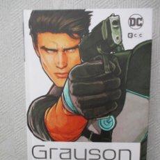 Cómics: GRAYSON TOMO INTEGRAL TAPA DURA DC ECC EDICIONES NUEVO. Lote 128422304