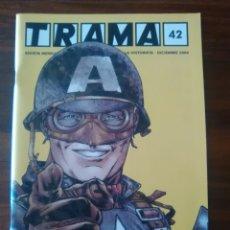 Cómics: TRAMA - NUMERO 42 - REVISTA MENSUAL - DICIEMBRE 2004 - COMO NUEVA. Lote 47186242