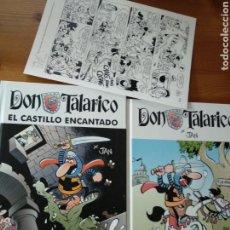 Cómics: DON TALARICO Nº 1 Y 2 - JAN - AMANIACO EDICIONES - CON LAMINA FIRMADA. Lote 124250363