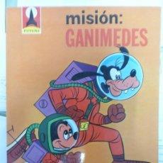 Cómics: MISIÓN GANIMEDES. FUTURA. WALT DISNEY. PRIMERA EDICIÓN 1982.. Lote 124308463