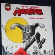 Cómics: MR. MONSTER Y OTROS RELATOS (ABULI Y BERNET). MAKOKI 1990. PRECINTADO. . Lote 124412683