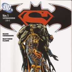 Cómics: COMIC-SUPERMAN BATMAN Nº 5 DC COMICS PLANETA. Lote 124497111