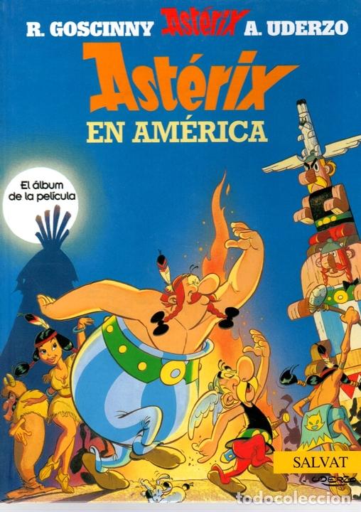 ASTERIX. ASTERIX EN AMERICA. EL ALBUM DE LA PELICULA. SALVAT. AÑO 2007. GOSCINNY Y UDERZO (Tebeos y Comics - Comics otras Editoriales Actuales)