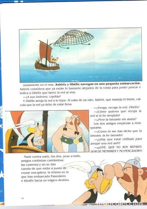 Cómics: ASTERIX. ASTERIX EN AMERICA. EL ALBUM DE LA PELICULA. SALVAT. AÑO 2007. GOSCINNY Y UDERZO - Foto 2 - 124601143