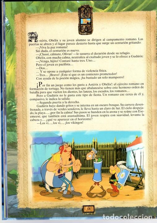 Cómics: ASTERIX. ASTERIX Y LOS VIKINGOS. EL ALBUM DE LA PELICIULA. SALVAT. AÑO 2006. GOSCINNY Y UDERZO - Foto 2 - 124601959