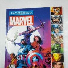 Cómics: ENCICLOPEDIA MARVEL VOL. VOLUMEN TOMO Nº 1 LOS VENGADORES. - ALTAYA. TDKC35. Lote 124679727