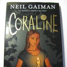 Cómics: COMIC CORALINE NEIL GAIMAN COMIC BOOKS EN CATALAN. Lote 124927295