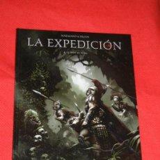Cómics: LA EXPEDICION. 1 - EL LEON DE NUBIA - MARAZANO & FRUSIN 2012. Lote 125139011