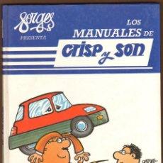 Cómics: FORGES LOS MANUALES DE CRISP Y SON Nº 2. Lote 125211147