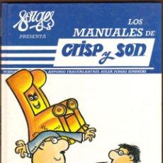 Cómics: FORGES LOS MANUALES DE CRISP Y SON Nº 3. Lote 125211315