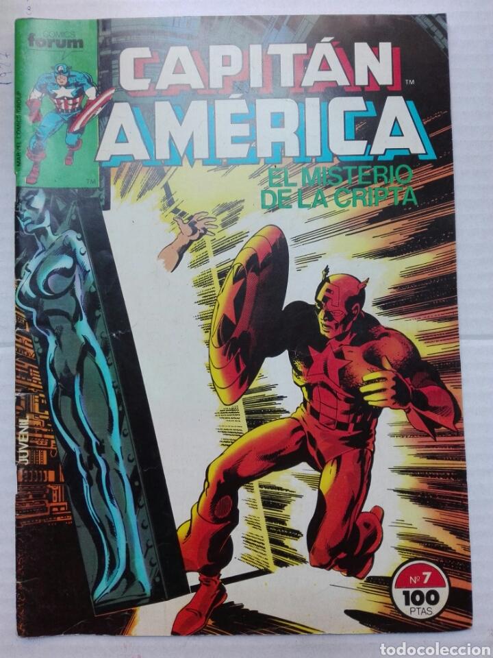 CAPITÁN AMÉRICA NÚMERO 7 FORUM MARVEL CÓMICS (Tebeos y Comics - Comics otras Editoriales Actuales)