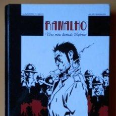 Cómics: RAMALHO. UNA MINA LLAMADA INFIERNO - ALEJANDRO M. GALLO. JULIO CANGIALOSI. Lote 125299483