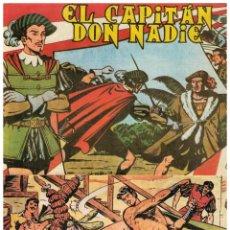 Cómics: EL CAPITÁN DON NADIE. COMPLETA 19 NºS. B.O.,1982. REEDICIÓN FACSÍMIL DE LA ORIGINAL MAGA,1952.. Lote 125306423
