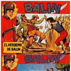 Cómics: BALIN. COMPLETA 30 NºS. MAGA 1955. REEDICIÓN FACSÍMIL. . Lote 125306691