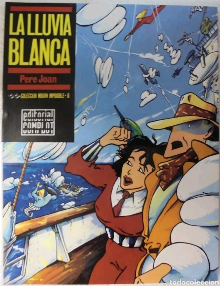 COMIC N°8 COLECCION MISION IMPOSIBLE LA LLUVIA BLANCA DE 1987 (Tebeos y Comics - Comics otras Editoriales Actuales)