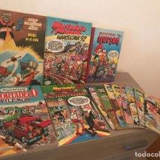 Cómics: LOTE TOMOS Y TEBEOS OLE SUPER LOPEZ MAZINGER Z MORTADELO SUPER HUMOR GRIJALBO BRUGUERA. Lote 125406987