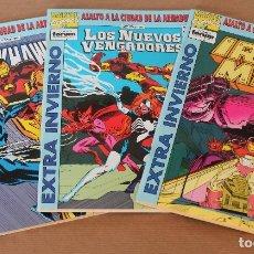 Cómics: FORUM EXTRA INVIERNO - ASALTO A LA CIUDAD DE LA ARMADURA 1 2 3 – COMPLETA - AÑO 1993. Lote 125680379