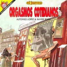 Comics : ORGASMOS COTIDIANOS - PENDONES DEL HUMOR Nº 77 - EL JUEVES - MUY BUEN ESTADO - OFI15T. Lote 126000147