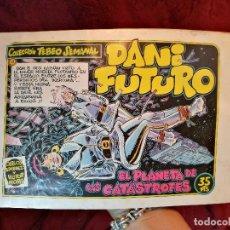 Cómics: DANI FUTURO Nº 12 - EL PLANETA DE LAS CATÁSTROFES. Lote 126007567