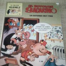 Cómics: EL BOTONES SACARINO - UN BOTONES MUY FINO - EL MEJOR IBAÑEZ Nº 5 - PRIMERA PLANA 1999. Lote 126090591