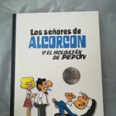 Cómics: CLÁSICOS DEL HUMOR. LOS SEÑORES DE ALCORCÓN Y EL HOLGAZÁN DE PEPÓN, DE SEGURA. Lote 128020822