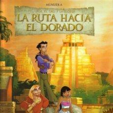 Fumetti: LA RUTA HACIA EL DORADO (MUNUERA) SALVAT - CARTONE - COMO NUEVO - OFI15T. Lote 126128507