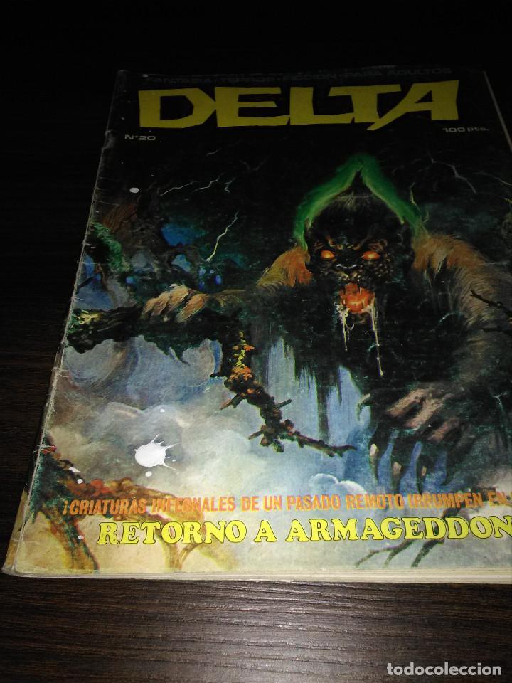 COMIC TEBEO FANTASIA TERROR CIENCIA DELTA Nº 20 (Tebeos y Comics Pendientes de Clasificar)
