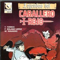 Cómics: LEYENDAS DEL CABALLERO ROJO #4 - T. TORRES, F. SOLANO LOPEZ, M. NAVARRO - COMIQUEANDO PRESS 1997. Lote 126205883
