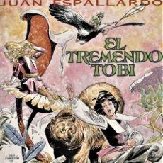 Cómics: EL TREMENDO TOBI-1: EL GLOBO DEL SEÑOR NEWTON (TORRE ANITA, 1987) DE JUAN ESPALLARDO. Lote 126689119
