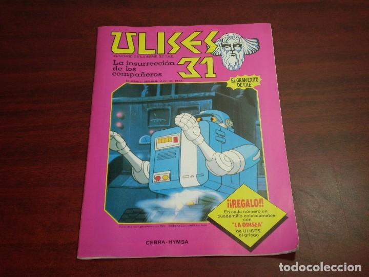 ULISES 31 - INSURRECCION COMPAÑEROS - EDI. CEBRA EDI HYMSA 1982 (Tebeos y Comics Pendientes de Clasificar)