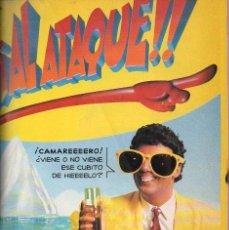 Cómics: AL ATAQUE - COLECCIÓN COMPLETA, 23 NÚMEROS - EDICIONES B, 1993 - ALFONSO ARÚS. Lote 126745395