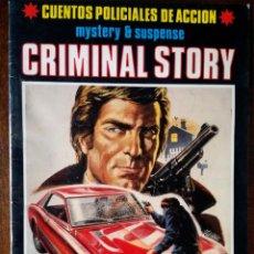 Cómics: CRIMINAL STORY 3 UNIDADES Nº 1-4-6 MISTERIO SUSPENSE NUEVO. Lote 126788047