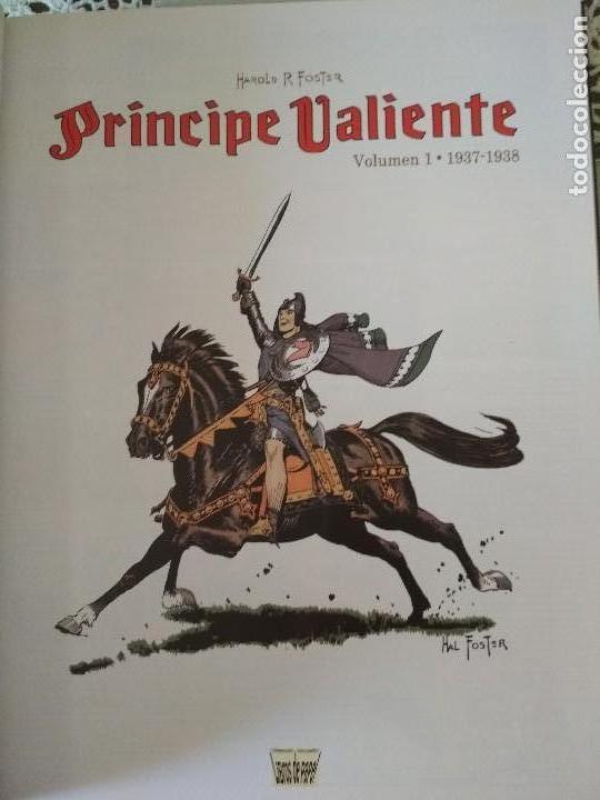 Cómics: Principe Valiente tomos 1 y 2 Manuel Caldas Libros de papel - Foto 5 - 126804399