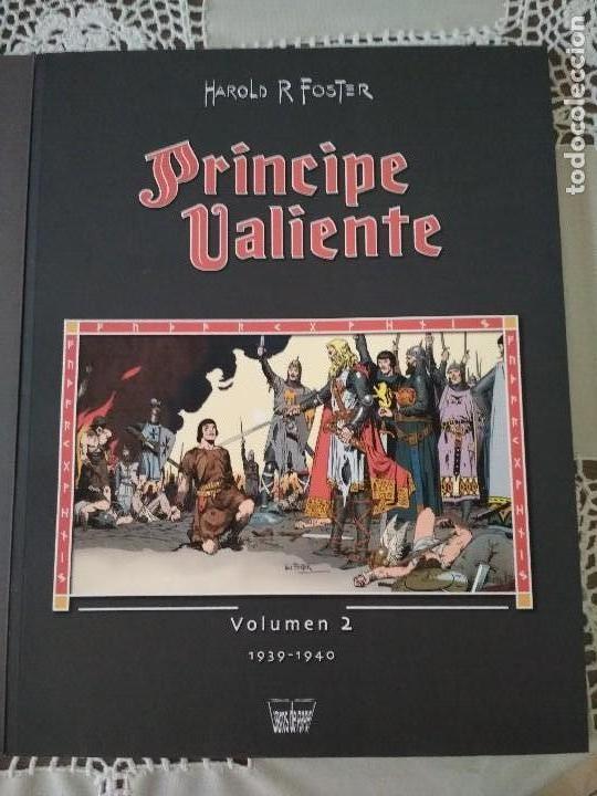 Cómics: Principe Valiente tomos 1 y 2 Manuel Caldas Libros de papel - Foto 32 - 126804399