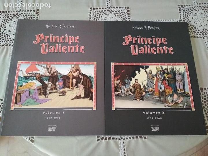 PRINCIPE VALIENTE TOMOS 1 Y 2 MANUEL CALDAS LIBROS DE PAPEL (Tebeos y Comics - Buru-Lan - Principe Valiente)