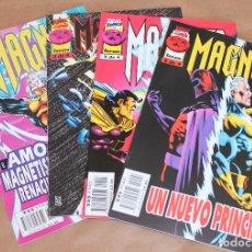 Cómics: MAGNETO 1 2 3 4 COMPLETA - ED PLANETA AÑO 1997 – MUY BUEN ESTADO. Lote 30299968