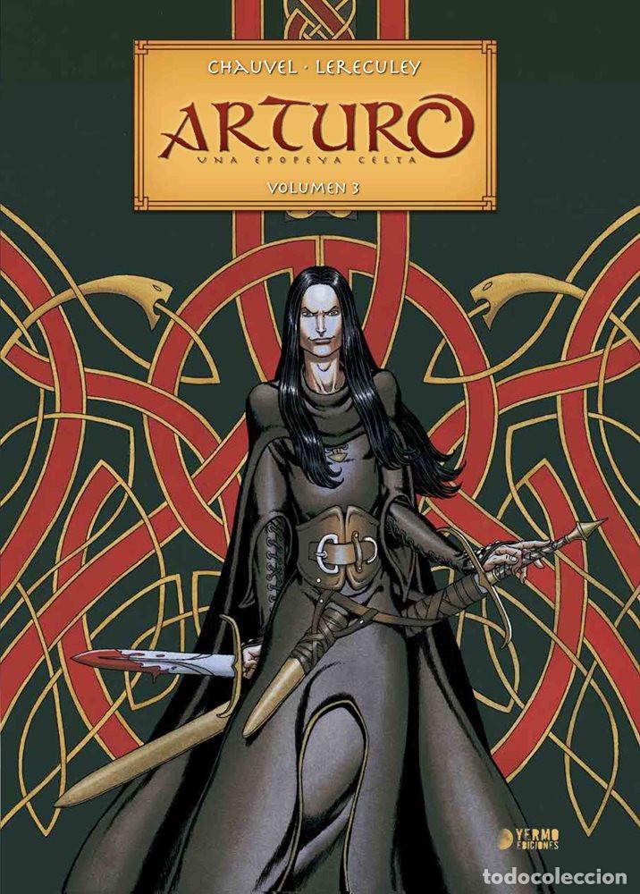 ARTURO: UNA EPOPEYA CELTA VOL.3 YERMO EDICIONES (Tebeos y Comics - Comics otras Editoriales Actuales)