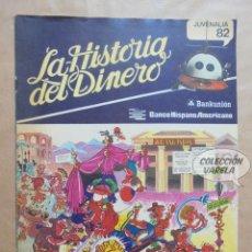 Cómics: LA HISTORIA DEL DINERO - MORTADELO Y FILEMÓN - BANCO HISPANO AMERICANO - JMV. Lote 126977031