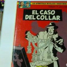 Cómics: EL CASO DEL COLLAR .AVENTURAS DE BLAKE Y MORTIMER .ED. GRIJALBO .TAPA DUA .. Lote 126993490