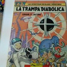 Cómics: LA TRAMPA DIABÓLICA .AVENTURAS DE BLAKE Y MORTIMER .EGAR P. JACBS.TAPA DURA. Lote 126994044